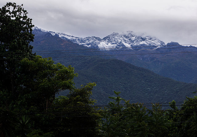 Pico El Toro en Venezuela
