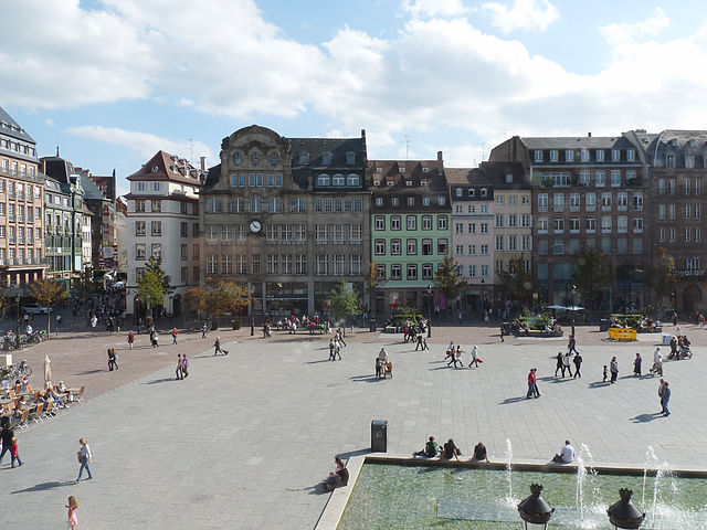Plaza Kléber de Estrasburgo