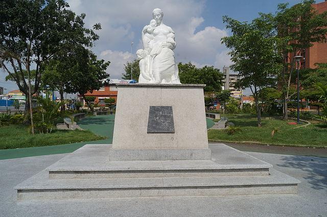 Plaza de Las Madres en Maracaibo