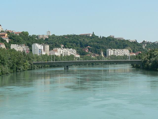 Puente Winston Churchill de Lyon