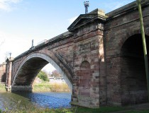 Puente Grosvenor en Chester
