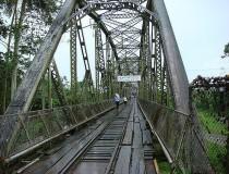 Río Sixaola en Costa Rica