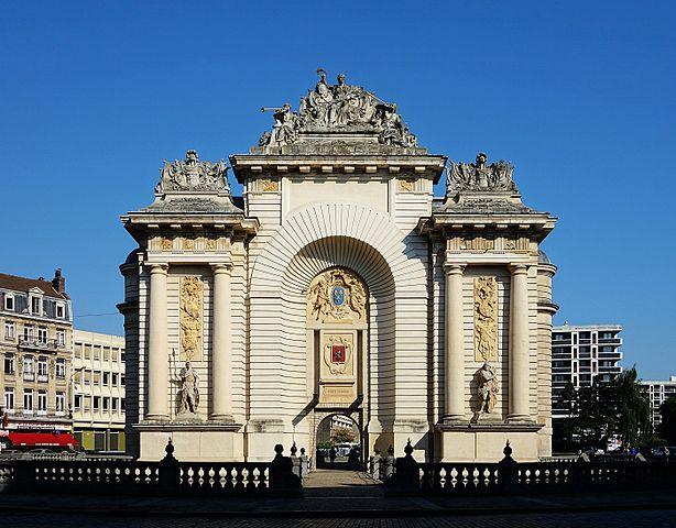 Puerta de París en Lille