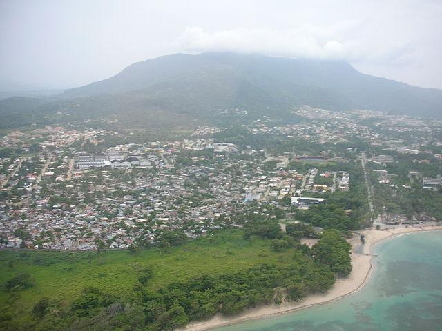 Bahía de Luperón del República Dominicana