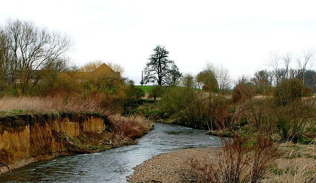 Río Berwinne en Bélgica
