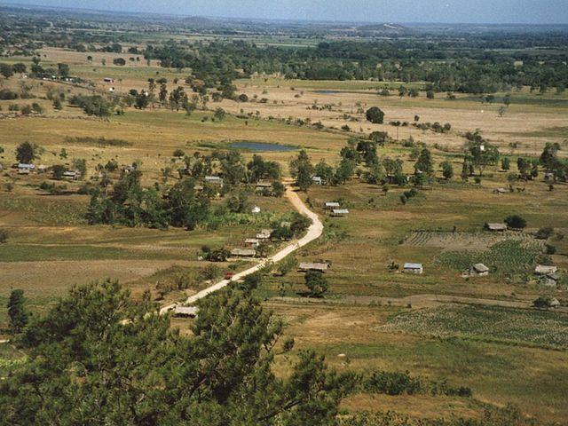 Río Dajabón en República Dominicana