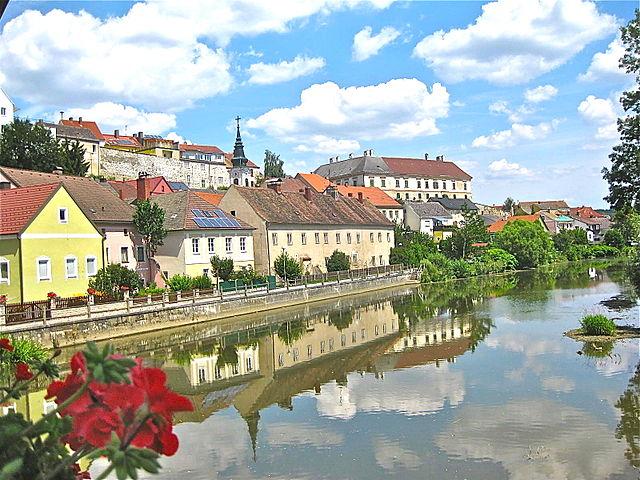 Río Thaya en Austria