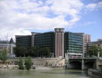Río Viena en Austria