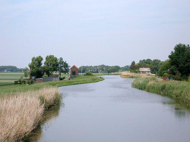 Río Rotte en Holanda