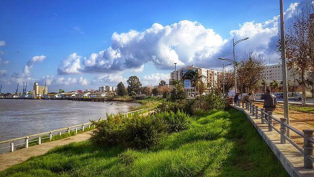 Río Baht en Marruecos