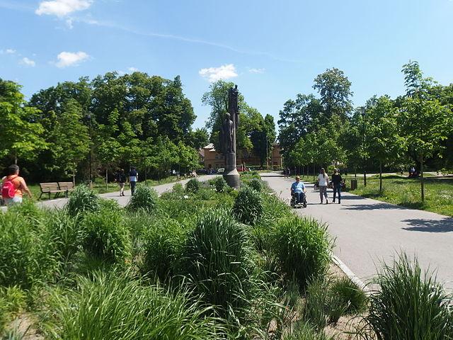Parque Smetanovy Sady en Olomouc