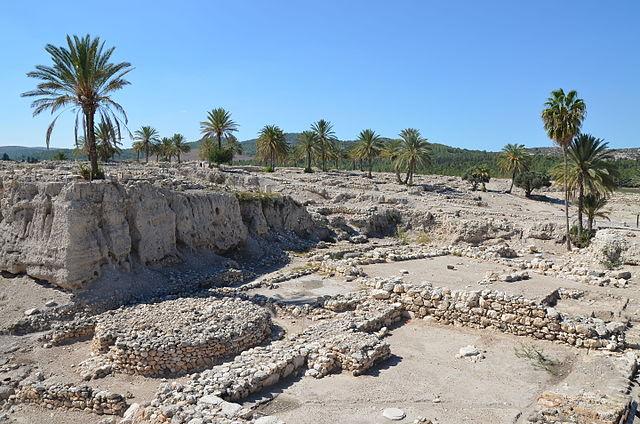 Colonia Tel Meguido en Israel