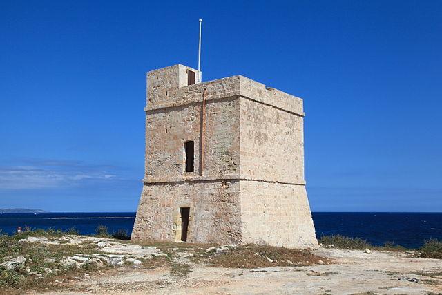 Torre de San Marcos en Malta