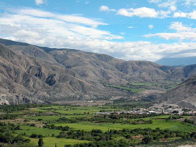 Valle del Chota en Ecuador