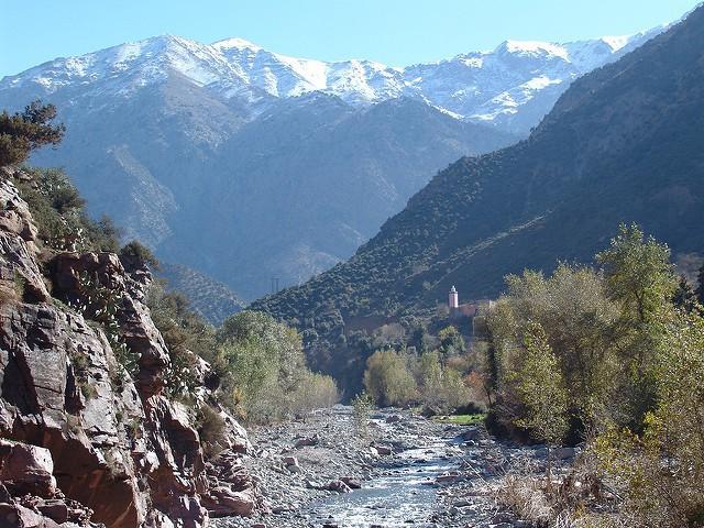 Valle Ourika en Marruecos