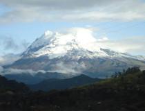 Volcán Antisana en Ecuador