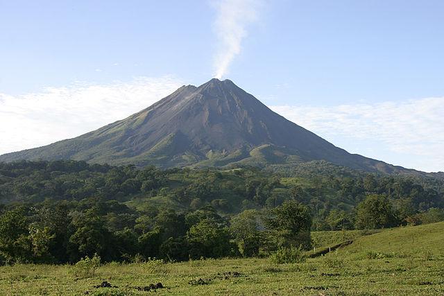 Volcán Miravalles en Costa Rica