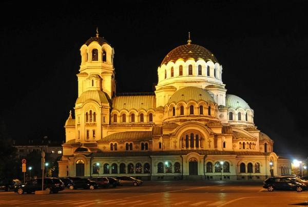 La catedral ortodoxa es uno de los edifcios más famosos de Sofía