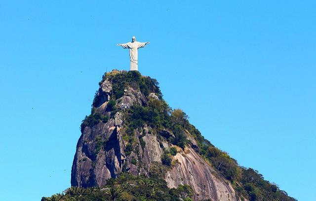 La estatua de Cristo Redentor en Río de Janeiro