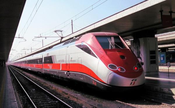 Los Frecciarossa son los trenes más rápidos de Italia