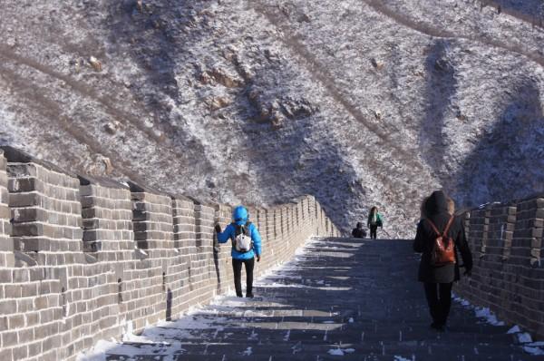 Una sección de la Gran Muralla