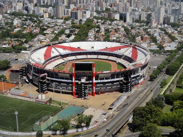 El Monumental es el estadio más grande de Argentina