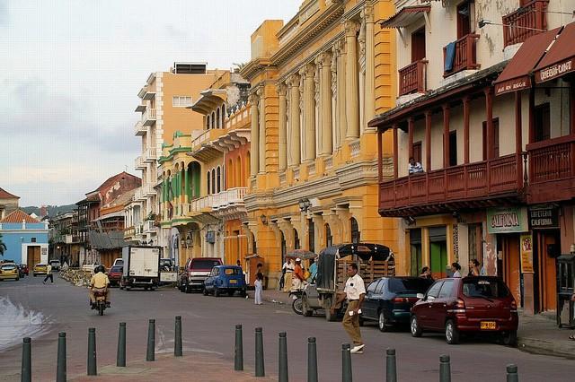 Plaza Pozo en Cartagena de Indias