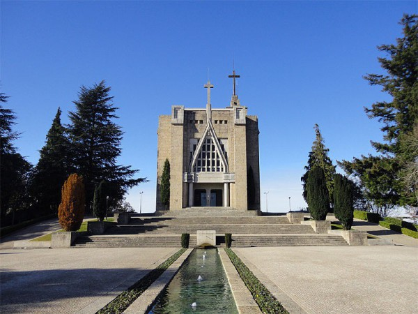 Santuario da Penha, lugar de peregrinación en Guimaraes