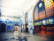La Estación de San Bento, una de las puertas de entrada a Oporto