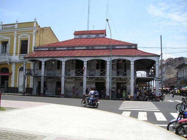 Casa de Fierro en Iquitos
