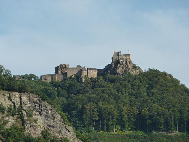 Castillo Aggstein en Austria