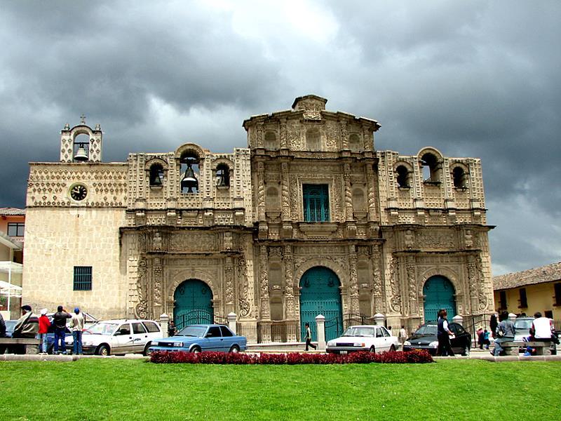 Catedral de Santa Catalina en Cajamarca