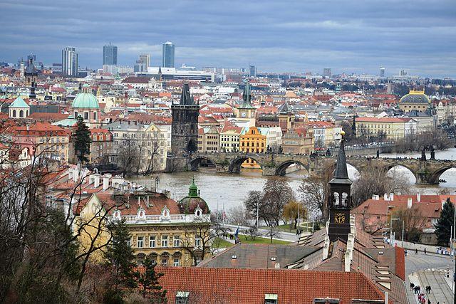 Jardines Chotek en Praga