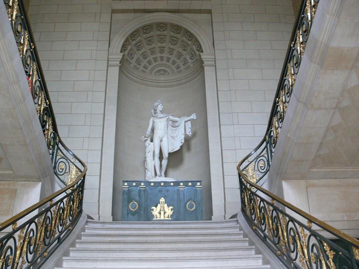 Castillo de Compiègne en Francia
