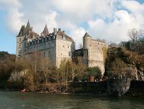 Castillo Durbuy en Bélgica