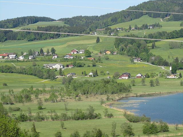 Irrsee, lago en Austria