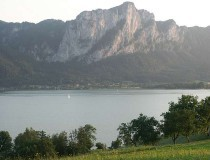 Lago Mondsee en Austria
