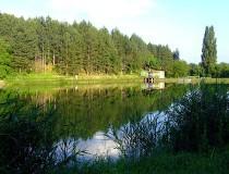 Lago Dombay en Hungría