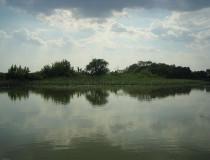 Lago Tisza en Hungría