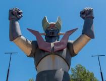 La estatua de Mazinger Z en Tarragona
