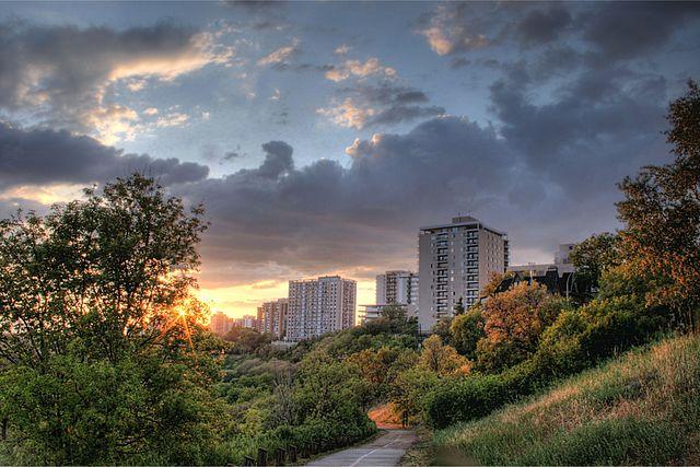 Parque Capilano de Edmonton