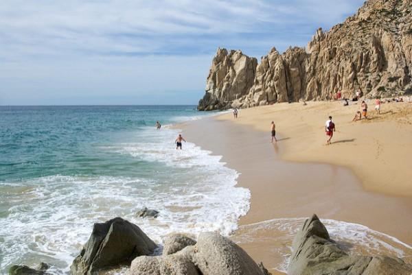 Playa recomendables en Los Cabos, México