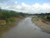 Río Táchira en Venezuela