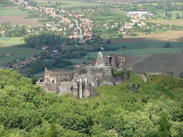Castillo de Somló en Hungría