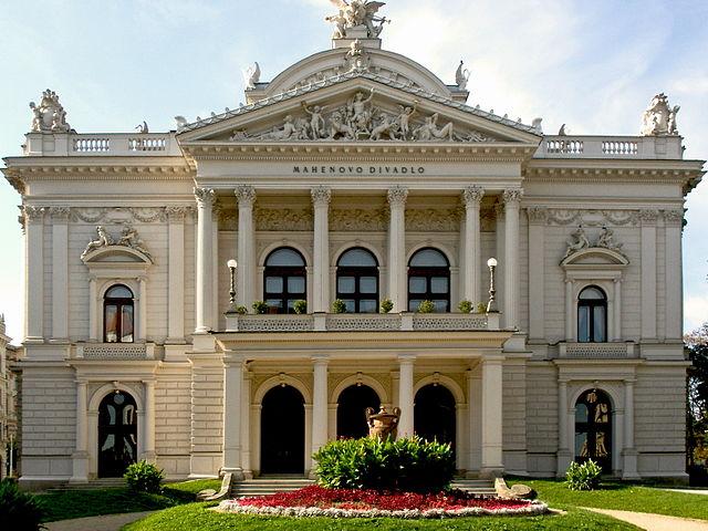 Teatro Mahen en Brno