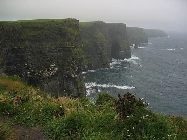 Torre Moher en Irlanda