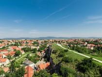 Castillo de Veszprem en Hungría