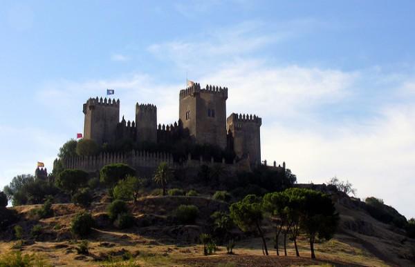 Impresionante castillo en Almodóvar del Río, localidad de Córdoba