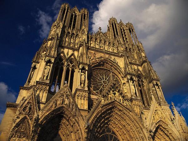 La Catedral de Reims es uno de los edificios más importantes de Francia