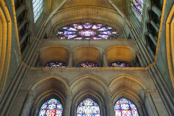 La famosas vidrieras de la Catedral de Reims